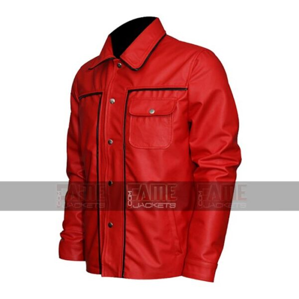 Elvis Presley Red Leather Vintage Jackets On Sale