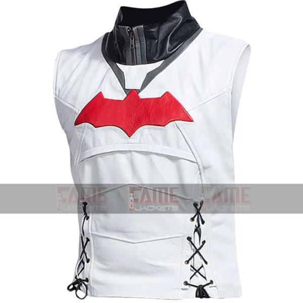 Batman Logo Dark Knight Movie Red Hooded Jacket Online