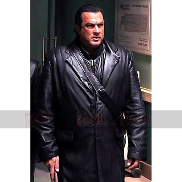 Against The Dark Steven Seagal Black Coat