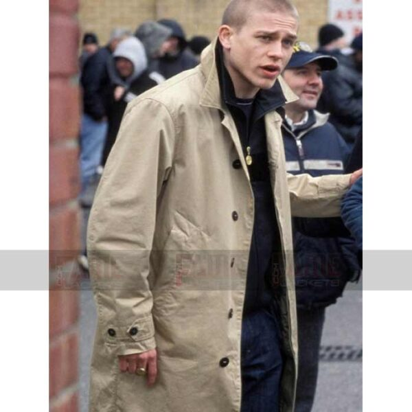 Pete Green Street Hooligans Charlie Hunnam Coat For Men