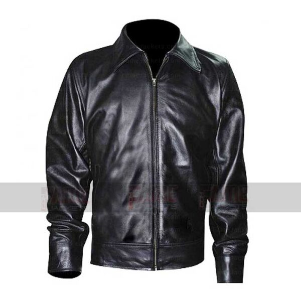 Russell Crowe Black Leather Jacket On Sale