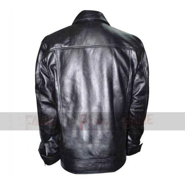 American Gangster Russell Crowe Black Leather Jacket