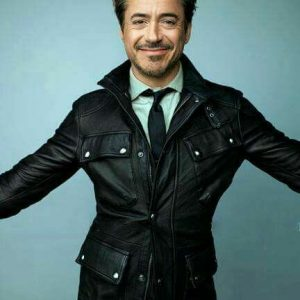 Robert Downey Jr Leather Jacket On Sale