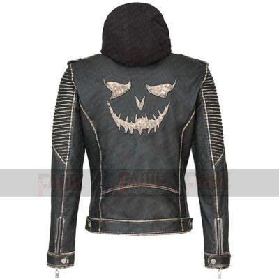 Joker The Killing Jacket Suicide Squad Real Distress Hooded Jacket