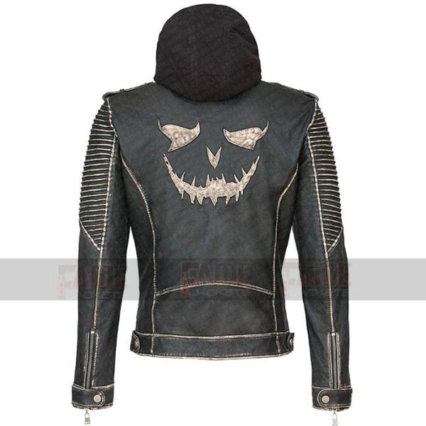 Joker The Killing Jacket Suicide Squad Real Distress Hooded Jacket