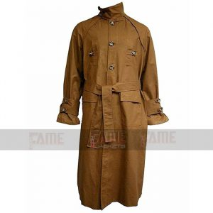 Blade Runner Harrison Ford Khaki Long Coat For Men On Sale