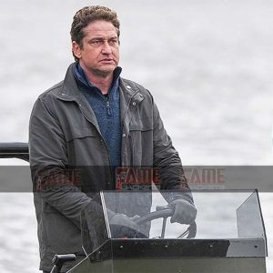 Mike Banning - Gerard Butler Cotton Jacket on Sale