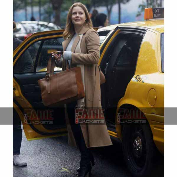 The Women In The Window Brown Wool Winter Coat Online