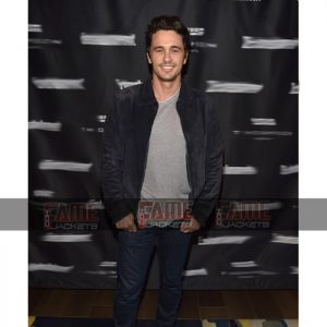 James Franco Black Suede Leather Jacket Online