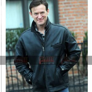 Dietland Dominic Men Black Real Leather Jacket Sale