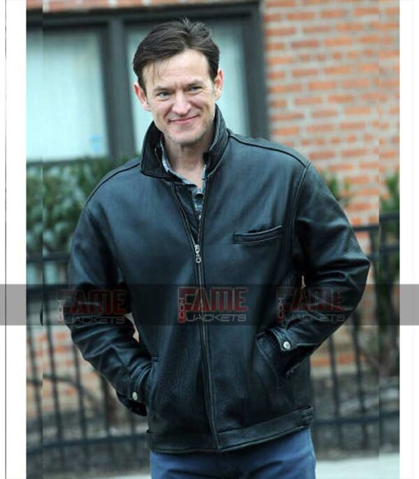 Dietland Dominic Men Black Real Leather Jacket Sale