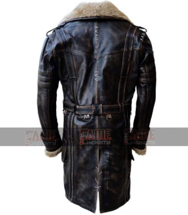 Elder Maxson Fall Out 4 Battle Distressed Winter Over Coat