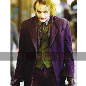 Heath Ledger The Dark Knight Joke Costume On Sale