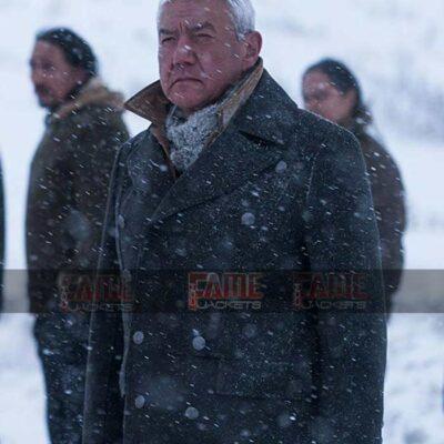 Tom Jackson Men Black Wool Winter Over Coat