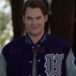 13 Reasons Why Bryce Walker Letterman Varsity Blue Jacket On Sale