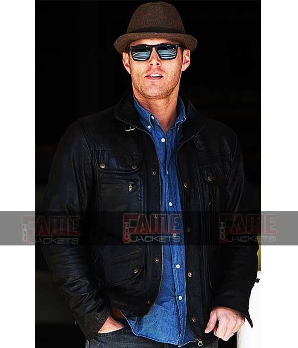 Dean Winchester In Real Black Sheep Leather
