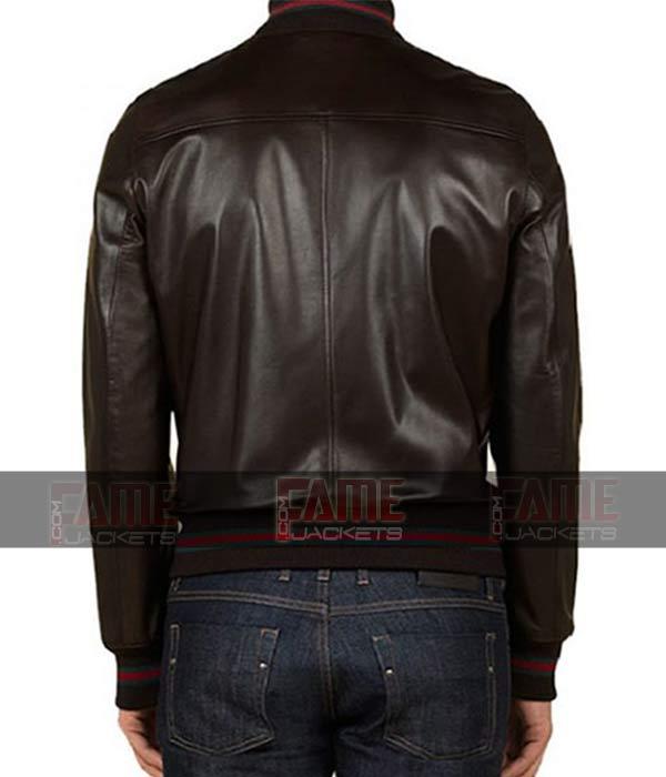 Get Eminem Not Afraid Vintage Leather Bomber Jacket