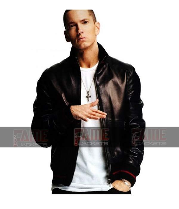 Buy Eminem Not Afraid Vintage Leather Jacket