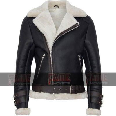 Buy Aviator Jacket Black for Men's in Real Leather